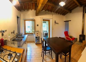 living room Appartamento Torretta Podere Vallescura