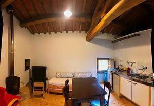 living room 2 Appartamento Torretta Podere Vallescura